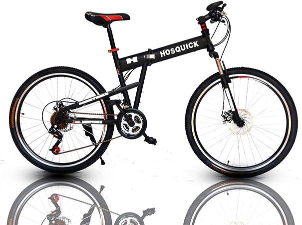 KOSGK Bicicletas MontañA Bicicletas 21/24 Velocidades Ligero Flying Bike Alloy Marco MáS Fuerte Freno Disco: Amazon.es: Hogar