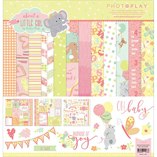Photoplay Paper Photo Play Pk 12x12 About a About a Little Girl Collection Pack