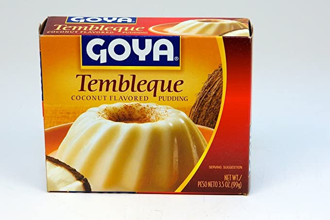 Goya Tembleque Coco Flavored Pudding Amazon Com Grocery Gourmet Food