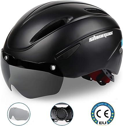 Superleichter Fahrradhelm Abnehmbares Visier Schutzhelm Mountain Bike Helm Rad