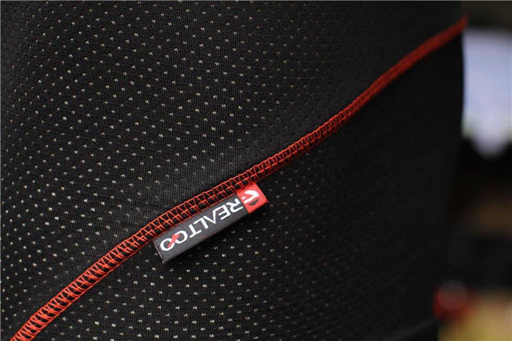 BADI NA Mens 3D Padded Sponge Coolmax Bicycle Cycling Underwear Shorts Black 4XL by BADI NA (Image #7)