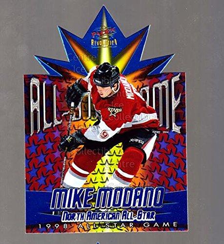 1997 Nhl All Star Game ((CI) Mike Modano Hockey Card 1997-98 Revolution 1998 AS Game Die-Cuts 10 Mike Modano)