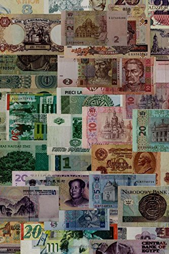 Colorful Money Around the World Journal: 150 Page Lined Notebook/Diary PDF
