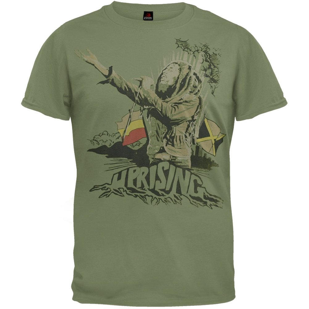 Bob Marley - Uprising Messiah T-Shirt Old Glory