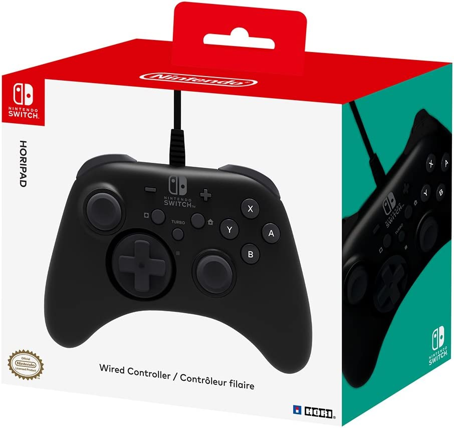 Hori Nintendo Switch Horipad Wired Controller Officially With Remote To Control Ac Motor Our Automation Licensed By Video Games