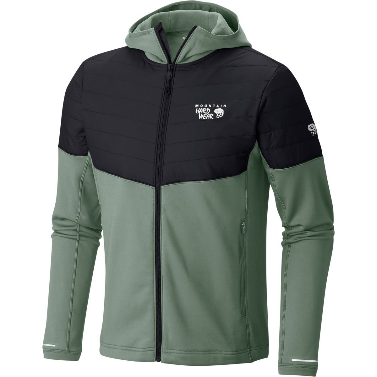 TALLA XL. Mountain Hardwear 32 Insulated Hooded, Chaqueta con Capucha para Hombre