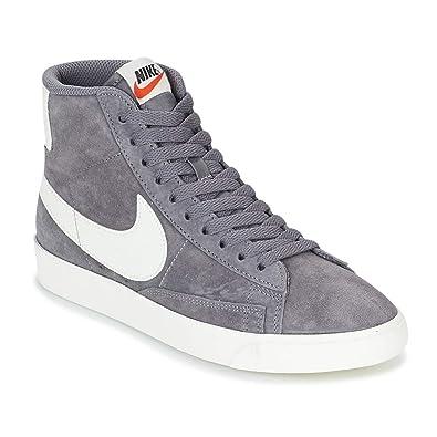 Nike Wmns Blazer Mid VNTG Suede, Scarpe da Fitness Donna ...