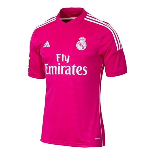 sale retailer fcb57 1d877 Amazon.com: adidas Real Madrid Away Mens Soccer Jersey 14/15 ...