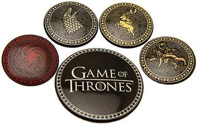 Game Of Thrones Juego de Tronos - Pack de chapas (Talla Única ...