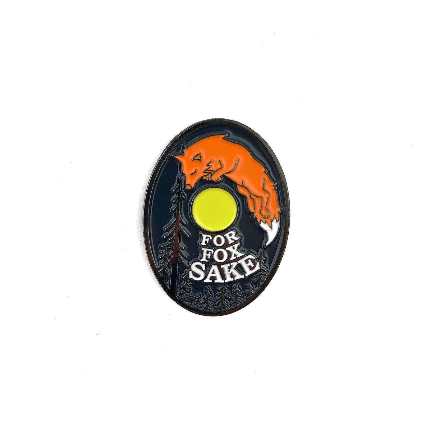 Amazon.com: Flowfold - Pin esmaltado para chaquetas y bolsas ...