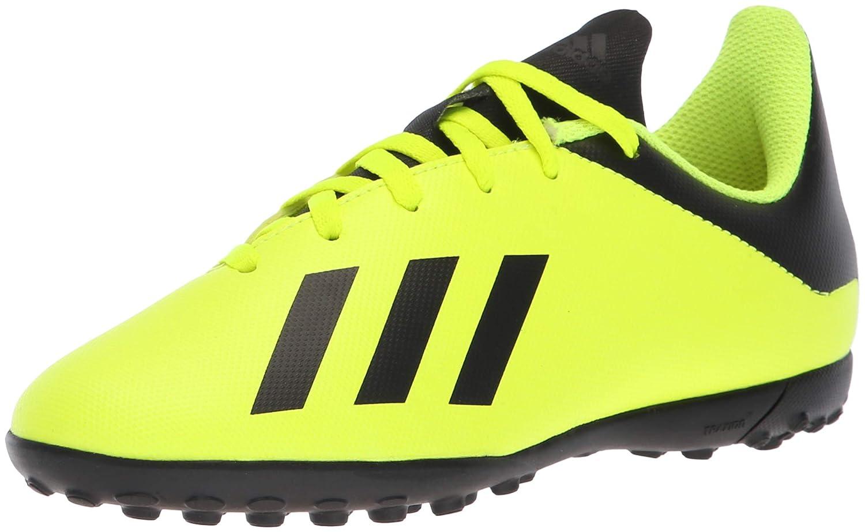 Adidas , Jungen Fußballschuhe Solar Yellow Core schwarz Solar Yellow