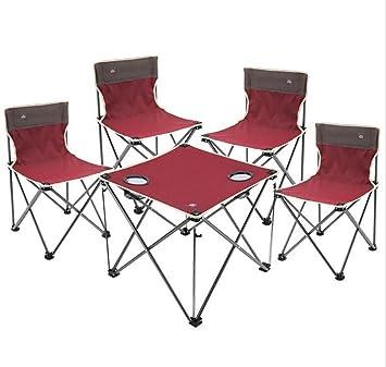 Nlne - Mochila Plegable para Exteriores con sillas y mesas ...