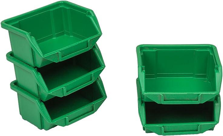 X 10 cajas Bandeja para estantería tamaño 0, tornillos, clavos pequeños trucs 90 x 110 x 50 cm: Amazon.es: Hogar