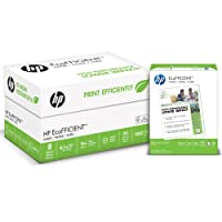 HP Printer Paper, EcoFFICIENT16, 16lb, 8.5 x 11, Letter, 92 Bright, 5,000 Sheets / 8 Ream Carton (216000C) Made In The USA
