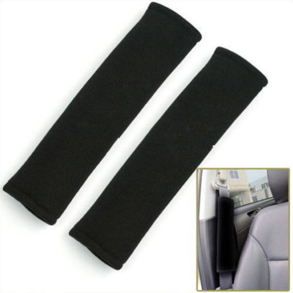 PYD 2pcs Safety Seat Belt Shoulder Comfortable Pad Cover Cushion for Travel Comfortable Driving Pop Your Dream