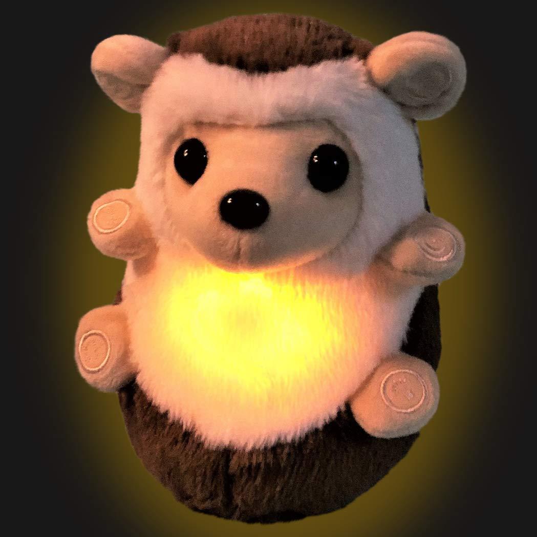 Besserer Schlaf f/ür Babys und ihre Familie Nachtlicht und beruhigende ger/äusche Mit wei/ßem Rauschen und Herzschlagger/äuschen Babyschlafhilfe Der Bambino-Baum Beruhigungs-Igel Spielzeug