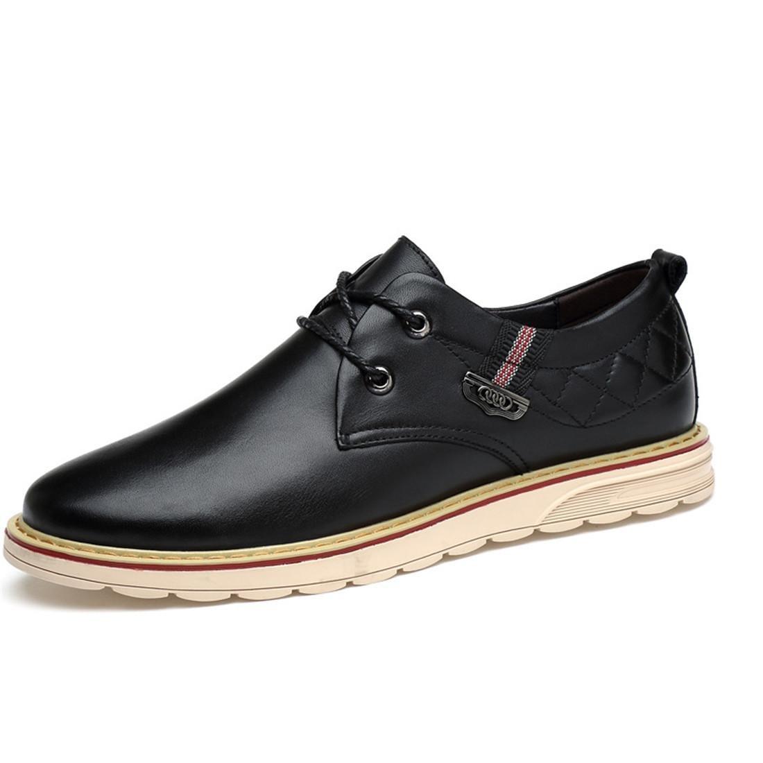 Herren Rutschfest Flache Schuhe Freizeit Lederschuhe Große Größe Lässige Schuhe Geschäft Freizeitschuhe Fahrt EUR GRÖSSE 38-46