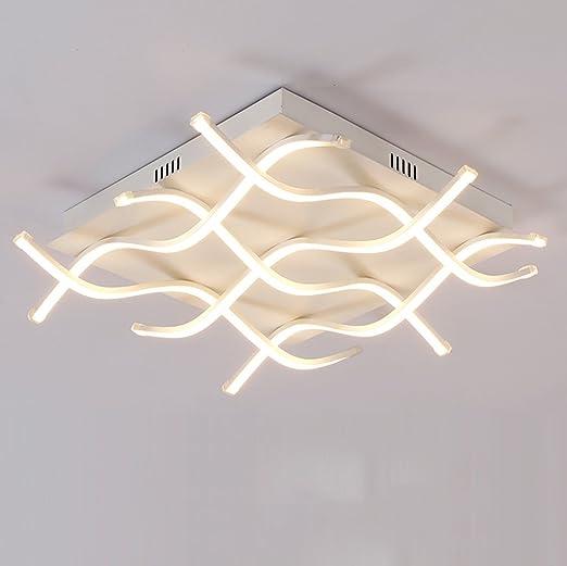 Lámpara de Techo LED Línea Moderna Lámparas Lámpara de pie para la ...