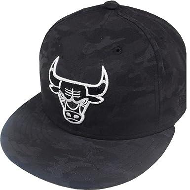 New Era Chicago Bulls NBA Camo Cap 59fifty 5950 Fitted Basecap Kappe Mens