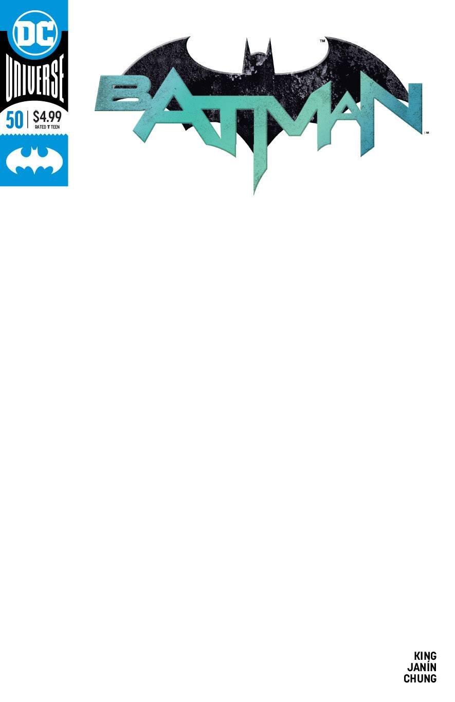 Download BATMAN #50 BLANK VAR ED pdf
