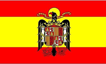 Gran Bandera de España Franco150 x 90 cm Satén Durobol Flag ...