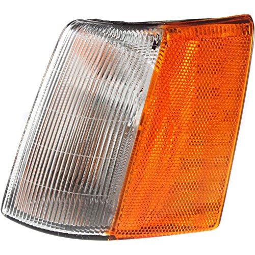 Jeep Grand Cherokee Corner Light - Corner Light compatible with Jeep Grand Cherokee 93-98 Corner Lamp LH Lens and Housing Side Marker Left Side