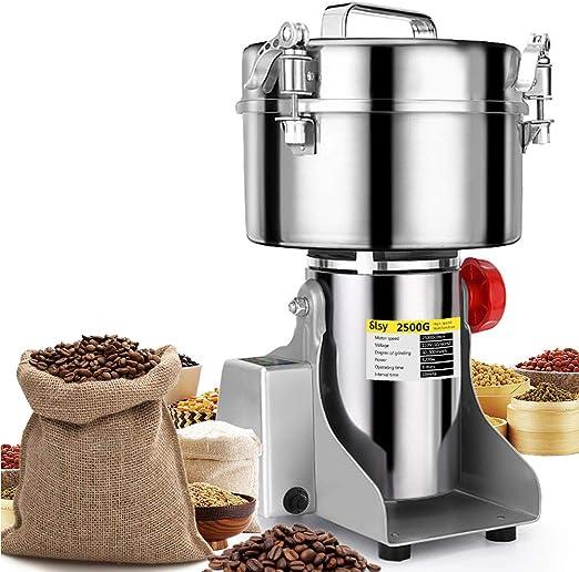 Grain Grinder Pulverizer Hand Grinding Machine Mill Grinder Powder Machine Grain Grinder Mill for Kitchen Spice Pepper Coffee