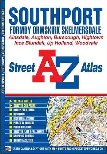 Book Southport Street Atlas (A-Z Street Atlas)