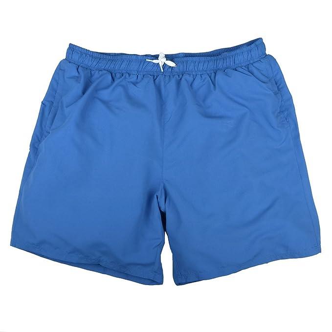 Abraxas Pantalones Cortos Jim Azul Real Oversize, 2xl-8xl:2XL