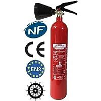 CO2 capacidad extintor 2 Kg NC con soporte