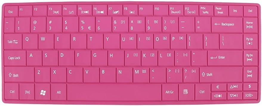 31cm x 12cm de la piel del teclado portátil cubierta de la ...