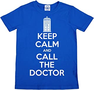 product image for Hank Player U.S.A. Keep Calm & Call The Doctor Men's T-Shirt