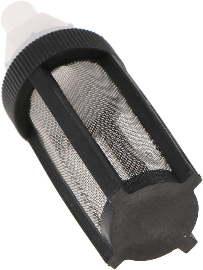 perfk 3 pi/èces Pompe /À Membrane Filtre pour Tuyau de 5-7mm de Diam/ètre