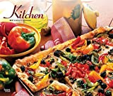 Kitchen 2019 12 x 14 Inch Monthly Deluxe Wall Calendar with Foil Stamped Cover, Cooking Home (English, French and Spanish Edition)