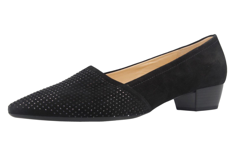5b4a90dc81d2 Gabor - Damen Pumps Übergrößen - Schwarz Schuhe in Übergrößen Pumps Schwarz  64ff96