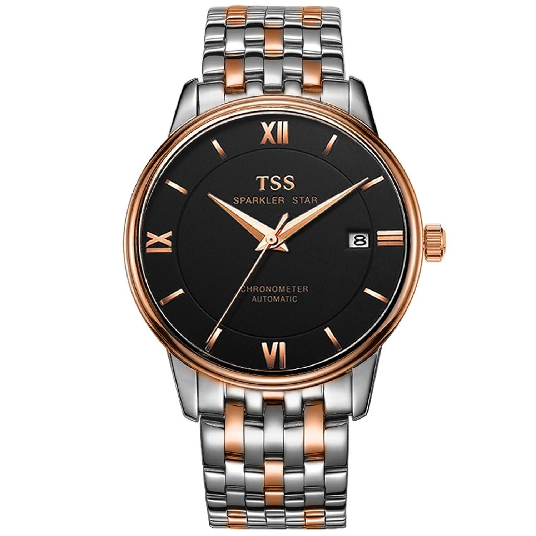 Mode Herren Automatikuhr casual Business wasserdichte Armbanduhr-[Freizeit und GeschÄft wasserdichte Uhr]-I