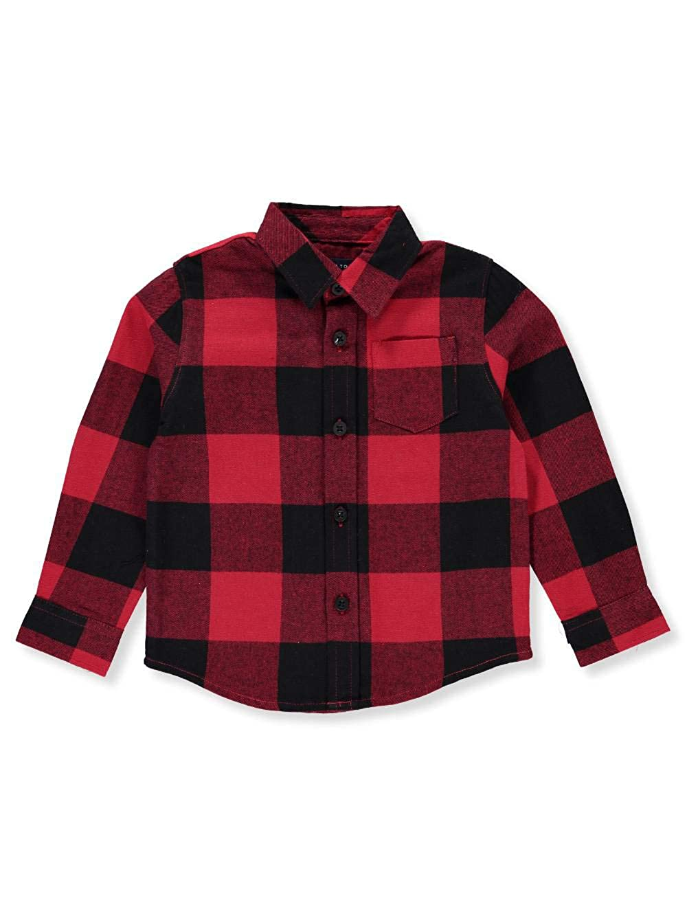 French Toast Boys' L/S Button-Down Shirt 18 Months