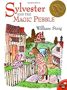 Sylvester and the magic pebble book by william steig for Sylvester and the magic pebble coloring page