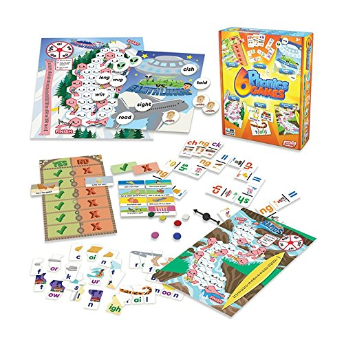 Junior Learning Different Phonics Games (Set of 6)