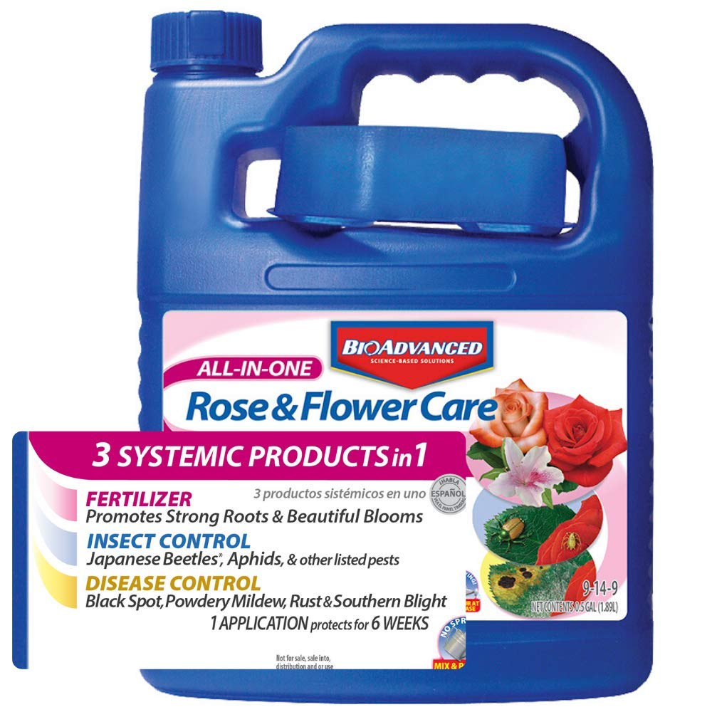 Bayer Advanced 701262 All In One Rose And Flower Care Concentrate Amazon In Garden Outdoors