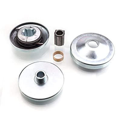 "30 Series Go Kart Torque Converter Clutch 3/4"" Bore Mini Bike Clutch Driver Pulley Replacement Comet Manco Max Torque: Automotive"