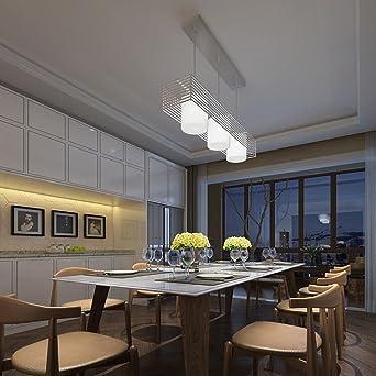 Moderno Diseño Lámpara colgante Creativo LED Parrilla del radiador ...