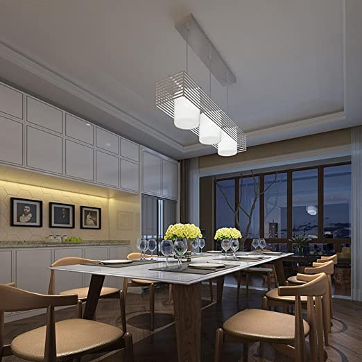 Moderno Diseño Lámpara colgante Creativo LED Parrilla del ...