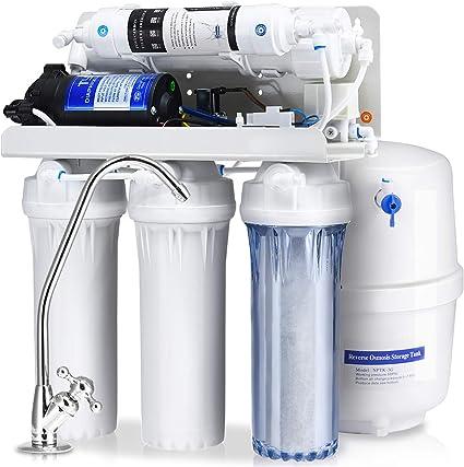 costway 5-Stage Ultra seguro sistema de ósmosis inversa filtro de ...