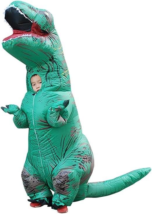 Disfraz inflable de dinosaurio para cosplay, para niños y adultos ...