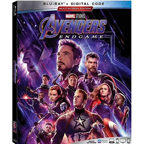 BLURAY Avengers End Game