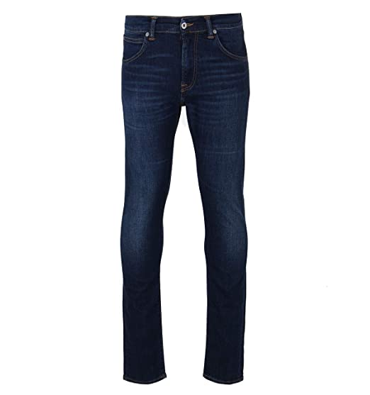 1dc539566494c Edwin CS Night Blue 11 oz Denim Solstice Wash ED-75 Tapered Jeans   Amazon.co.uk  Clothing