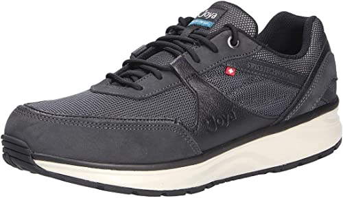 JOYA Damen Sneaker R/ückenfit Schwarz Gr 41