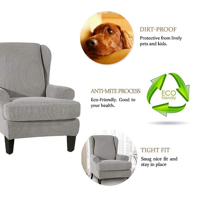 Amazon.com: Scorpiuse - 2 fundas elásticas para sillón con ...