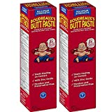 Boudreaux's Butt Paste Diaper Rash Ointment - Maximum Strength - Contains 40% Zinc Oxide - Pediatrican Recommended - Paraben and Preservative-Free - 4 Ounce, 2-Pack